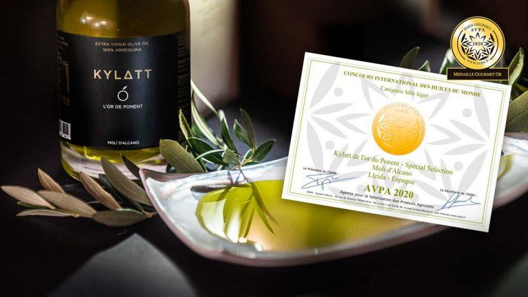 Kylatt-Or-AVPA-2020-certificat-premio-acite-or-de-ponent-alcano